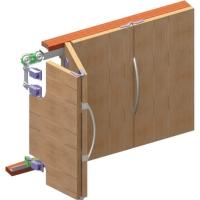 Раздвижная система 03МКК-4 гармошка для дверей и