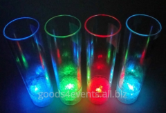 Glass of LED-Glass-02 high round shape glass
