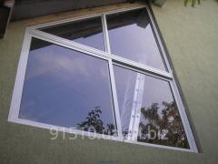 Cold aluminum windows