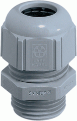 Ввод кабельный SKINTOP ST PG 11 RAL 7001 (LAPP Kabel) для быстрого монтажа и фиксации одним движением руки  серый