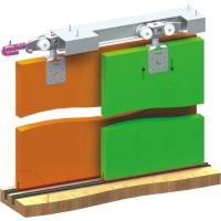 Раздвижная система для шкафов и межкомнатных