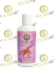 Almonds and Schafran body lotion of Chandi, 100 ml