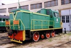 Shunting locomotive of TGM 23v