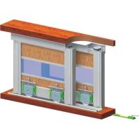 Раздвижная система для шкафов нижнего опирания