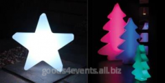 New Year tree of Led-figures