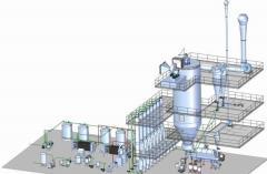 Turnkey line of production of Anka Makine