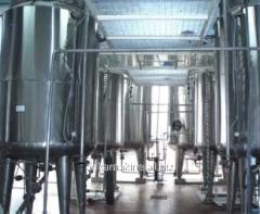 The Raspylitelny dryer on production powdered
