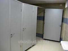 Разделительные перегородки для туалетов,