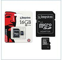 Flesh-pam'yat MicroSD Kingston Transcend 16Gb