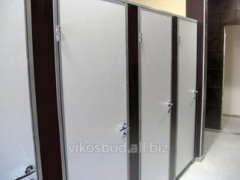 Туалетные разделительные перегородки