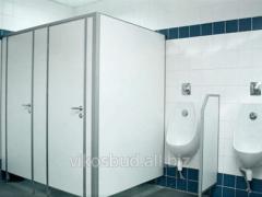 Перегородки сантехнические для туалетов и