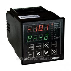 The controller for regulation of temperature of
