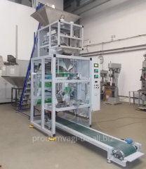 The automatic packing machine for laundry detergen