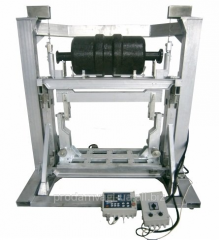 The comparator for 500 kg of the weigh