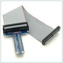 Komlekt for Raspberry Pi B + GPIO loop + T-Cobbler