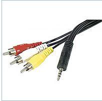 The Jack 3.5 cable - 3RCA 1.8m Audio-Video for