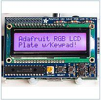 Payment the RGB LCD screen 16x2 z I klav_aturoit