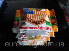 Biscoteria wafers - Haselnuss-Schnitte of 12