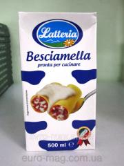 Besciamella Latteria Béchamel of 500 Ml sauce