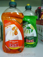 Means for washing of ware of Dexal Detergente