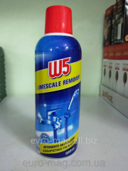 Means from limy raid of W5 Limescale remover of
