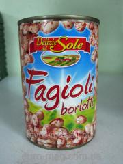 Haricot tinned Fagioli borlotti of 400 g