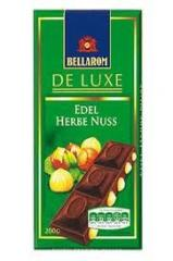 Bellarom chocolate dark with whole hazelnuts, 200