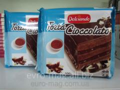 Chocolate dessert of Torta Cioccolato Dolciando of