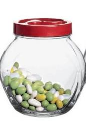 Bank a tumbler toy glass for loose products of