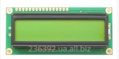 Simvolny LCD 1602 display HD44780 Arduino,