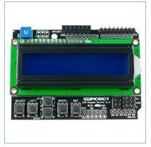 The Simvolny LCD keypad shield display for Arduin
