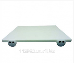 Chopping board with limiters of 400*300*25 mm,