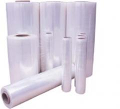 Stretch-plenka for manual packaging of 10 microns