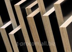 The plywood laminated shuttering 2440х1220 mm