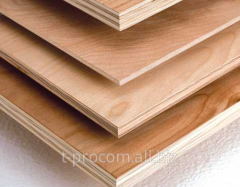 Plywood of FC of 1525х1525 mm thickness is 10 mm