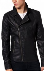 Clothes leather for bikers, trousers leather man's