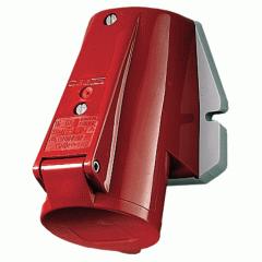 Розетка 32A4P 6H400V IP44 Mennekes настенная промышленная