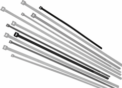 Хомуты Basic Tie 98х2,5 (LAPP Kabel) белые кабельные стандартные