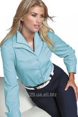 Tailoring of women's blouses to order