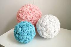 Цветочный шар 10 см