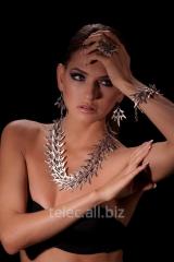 Set of costume jewelry of 1506