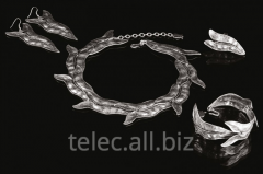 Set of costume jewelry of Affan