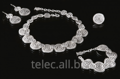Set of costume jewelry of Ares