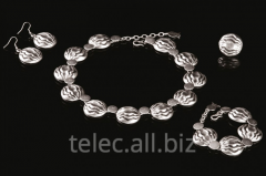 Set of costume jewelry of Avaz