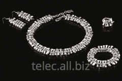 Set of costume jewelry of Efser