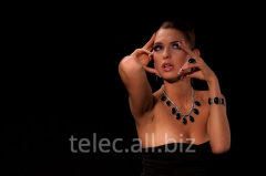 Set of costume jewelry of Leyla