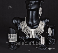 Set of costume jewelry of Sua