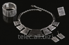 Set of costume jewelry of TACS is