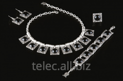 Set of costume jewelry of Ulga