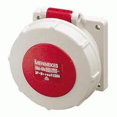 Розетка панельная Mennekes 32A5P 6H400V IP67